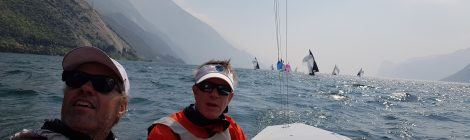 Good start at Alpen Cup - Lake Garda