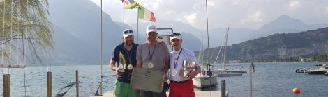 Tight win at Lake Garda