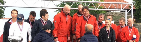 Team Baghdad 2 back at the top in Melges 24 champs